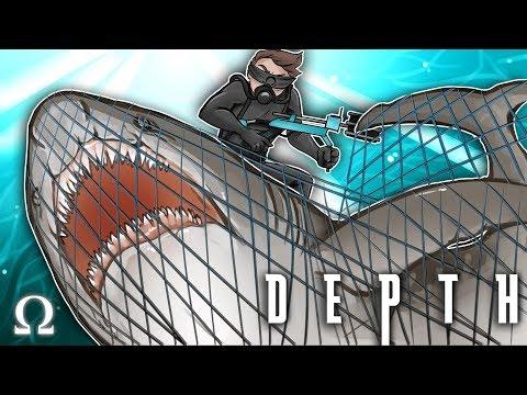 CATCHING SHARKS WITH MY NET! | Depth #92 Divers vs Sharks Ft. Cartoonz, Gorilla