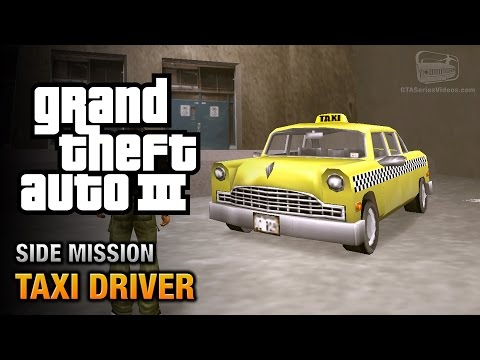 GTA 3 - Taxi Driver [Where To? Trophy / Achievement]