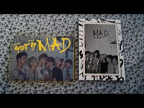GOT7 Mad Album Unboxing [Both Versions] +Posters