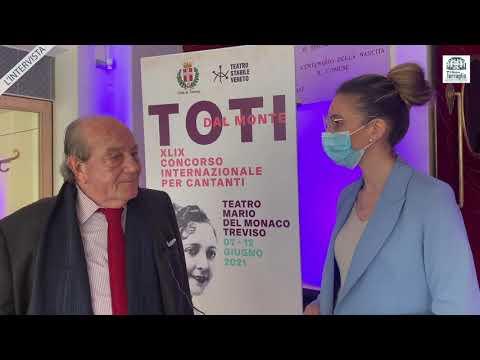 """Intervista a Giorgio Ferrara, direttore artistico del TSV, nel 49° concorso lirico """"Toti Dal Monte"""""""