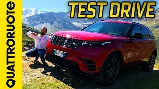 Gambar cover Range Rover Velar: prova su strada e off-road   Quattroruote