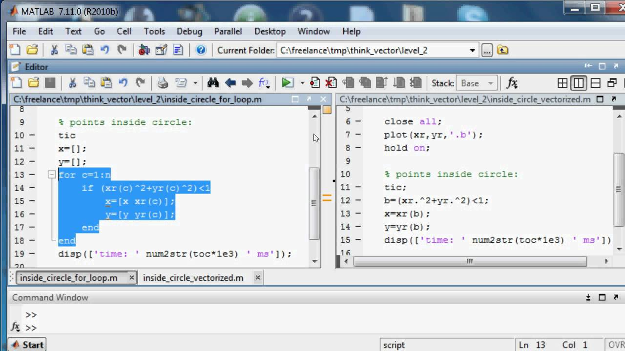 How to think vector in Matlab, part 2, logical indexing