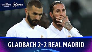 Gladbach v Real Madrid (2-2) | Champions League Highlights