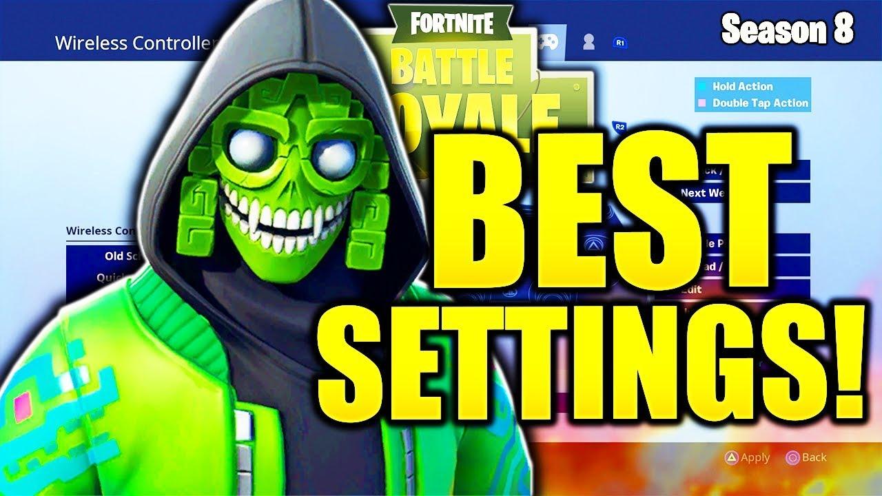 Best Controller Settings For Fortnite Ps4 Season 8 Fortnite Free
