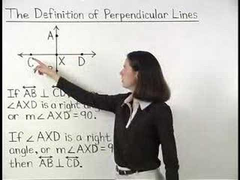 Definition of Perpendicular Lines - MathHelp.com - Math Help