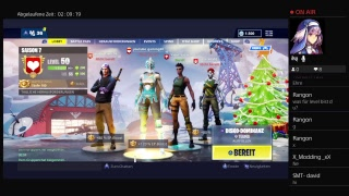 PS4 Fortnite battle pass lvl 100 und neue smt clan