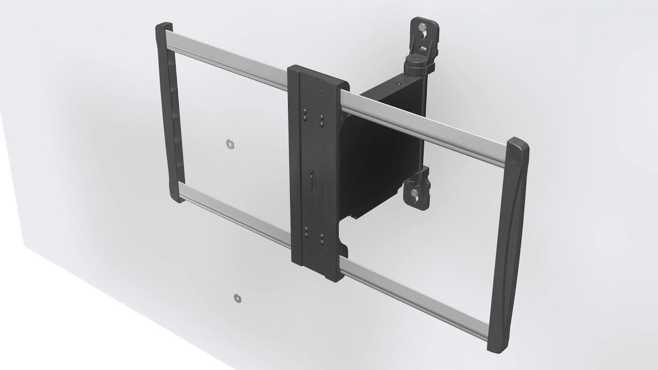 elektrische motorisierte tv wandhalterung schwenkbar 32 60 xantron premium 600efm - Motorisierte Tv Wandhalterung