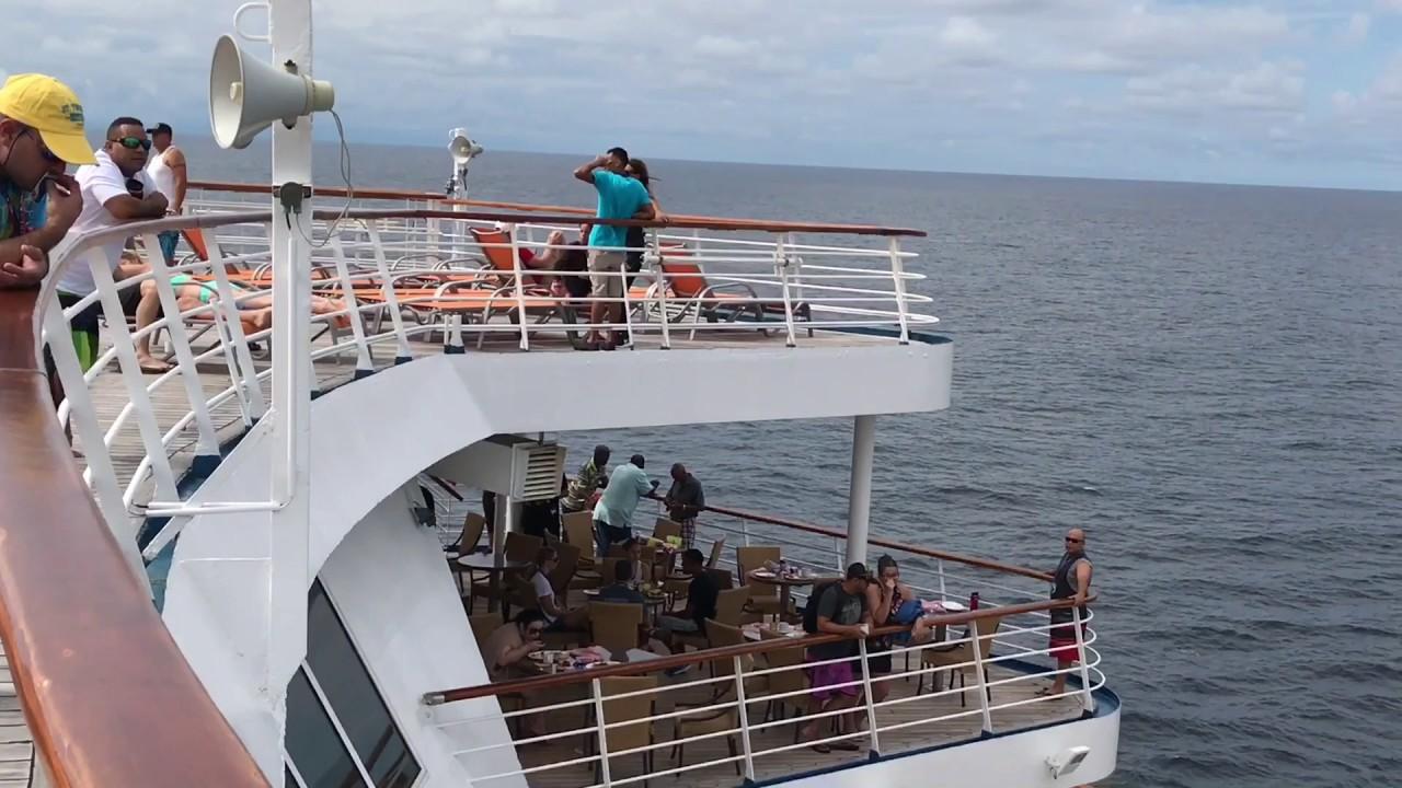 Carnival cruise line San Juan Puerto Rico 2018 movie - YouTube