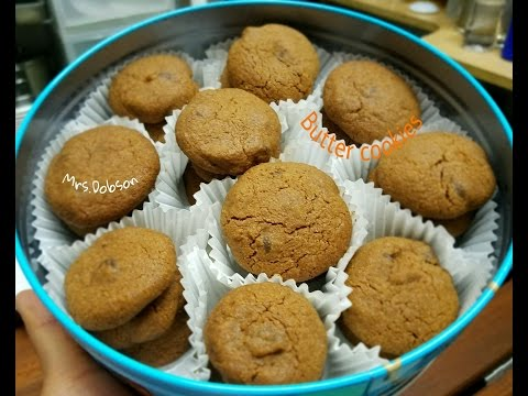 Resep CHOCOLATE Butter Cookies (Monde)