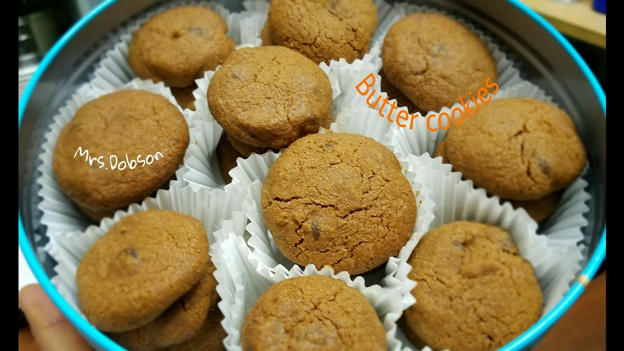 Resep Chocolate Butter Cookies Monde Youtube
