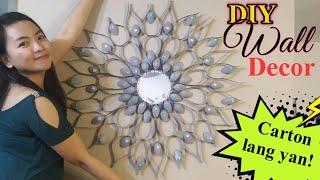 Diy Wall Decor   Home Decor Ideas   Carton Lang Yan!   Backpacking Cody