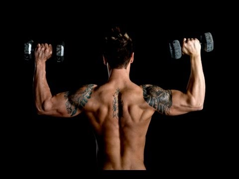 How To Build Cannon Ball Sized Delts & Wide Shoulders  ( Full Shoulder Workout )