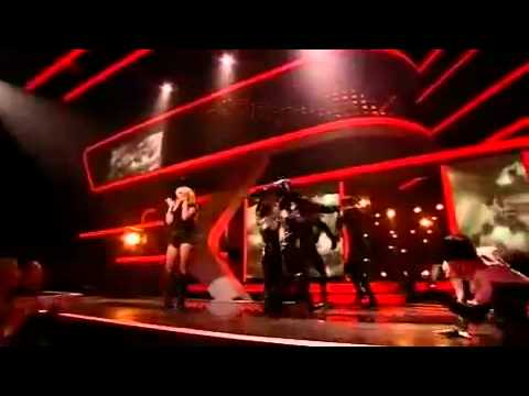 Britney Spears bei The X-Factor - Womanizer Live