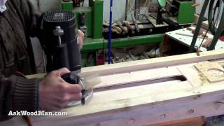 12 Of 23 • Wood Routers: How To Make A Jig To Route A Tapered Fluted Leg