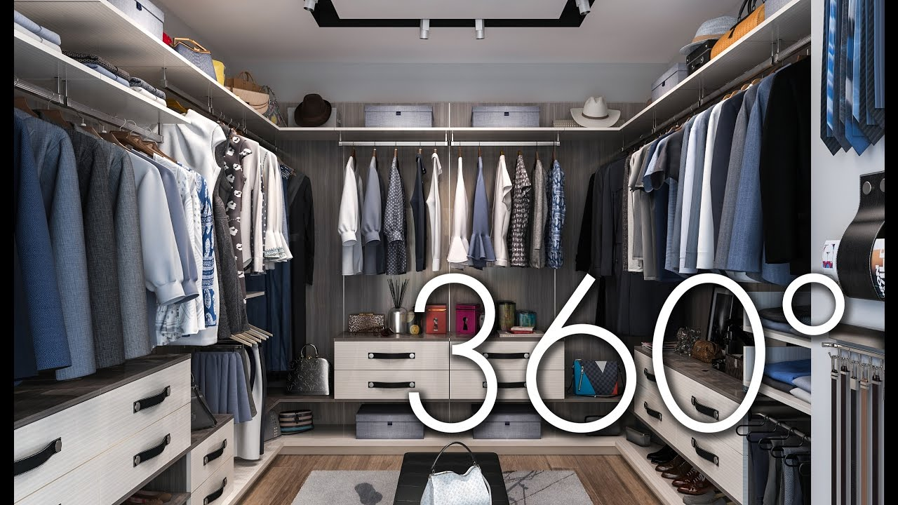 Finesse: The New Modern Closet (360° VR Closet Tour)