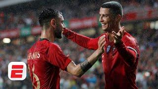 Cristiano Ronaldo's future is BRIGHT with Bruno Fernandes & Joao Felix around him - Moreno | ESPN FC