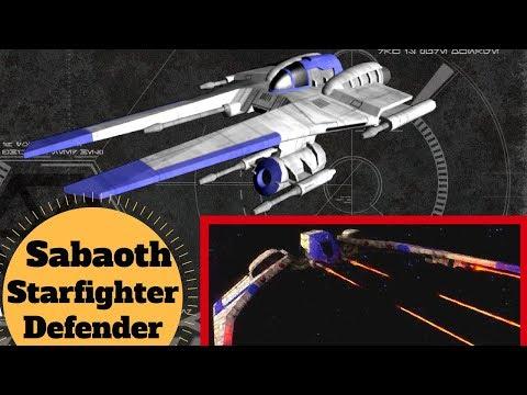 Sabaoth Starfighter & Defender Ships - Sabaoth Mercenary CIS Fleet - Star Wars Separatist Ships