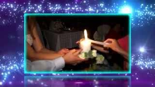 Сергей и Эльвира (зажжение семейного очага на свадьбе)