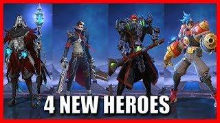 Gambar cover 4 NEW HEROES COMING IN THE ORIGINAL SERVER - MOBILE LEGENDS