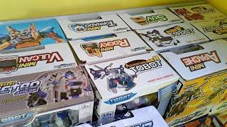 Menyusun Mainan Tobot X Y Z C D R W Tobot Athlon