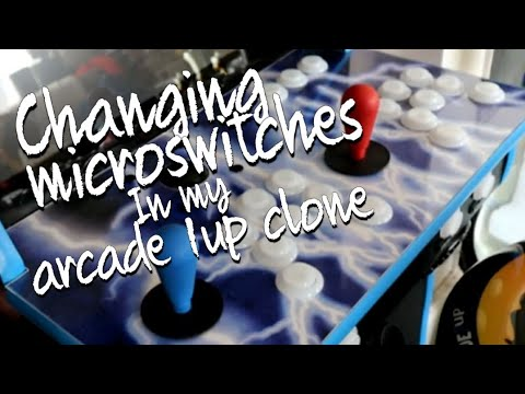 Part 16 Arcade 1up Microswitch change/Coin door wiring from Just Boggy