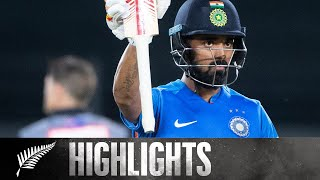 KL Rahul Masterclass | HIGHLIGHTS | 2nd T20 - BLACKCAPS v India, 2020