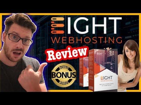 Eight Webhosting Review – Eight Webhosting Review with MASSIVE Bonus Bundle