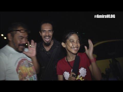 Pantai Bagan Lalang - Mobile KARAOKE - Nur Amira Syahira VLOG