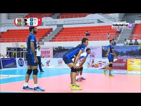 Pakistan Vs Vietnam Bronze Medal Match 2018 Asian Men's Club Volleyball Championship