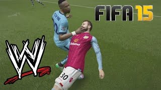 Fifa 15 fails - with wwe commentary #7
