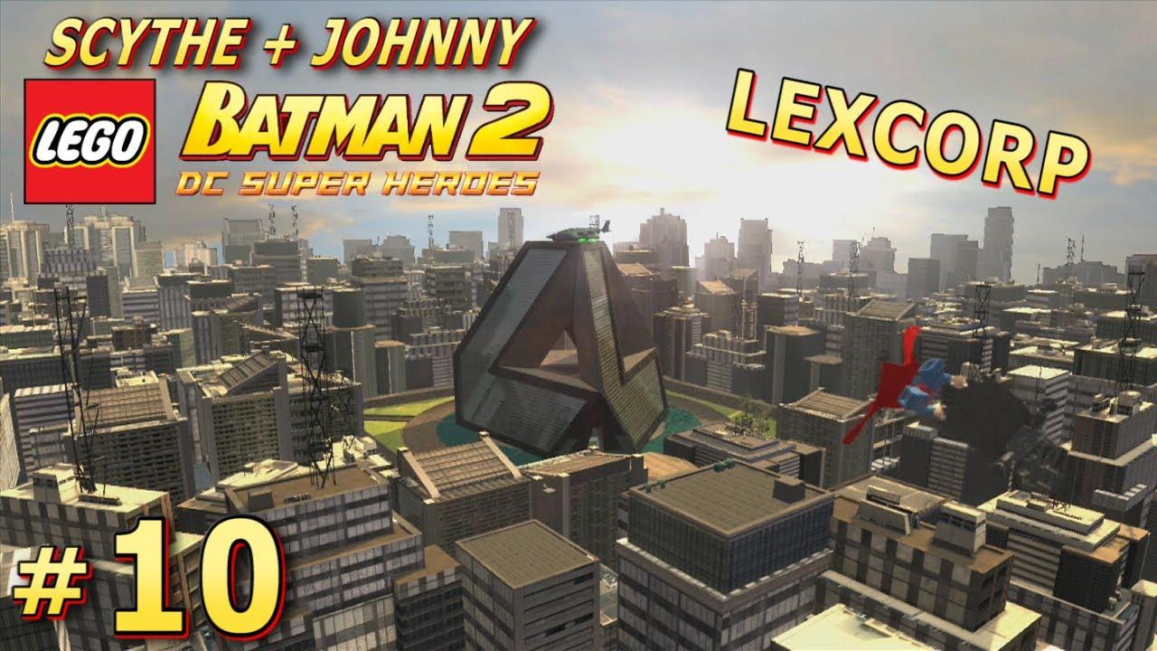 Let's Play Lego Batman 2 DC Super Heroes -10- Lexcorp ...