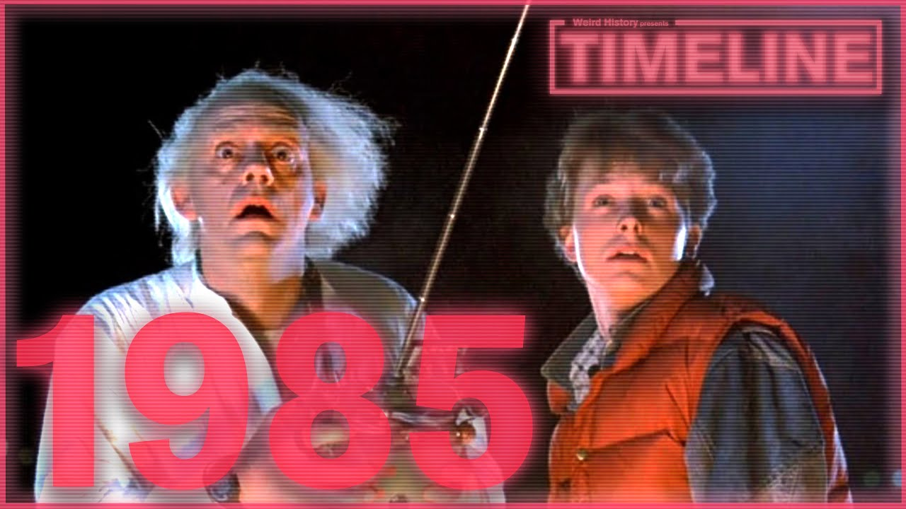 Download Timeline: 1985 - Back to the Future, MacGyver, and Michael Jordan