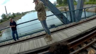Czarnobyl Sumy, Mostek i Elektrownia od tylu