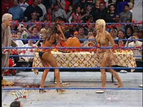 Dawn marie shows tits on smackdown