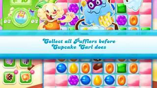 Candy Crush Jelly Saga Level 1354 (3 stars, No boosters)