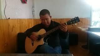 Hình bóng quê nhà - test guitar MDF Modern 850.000d