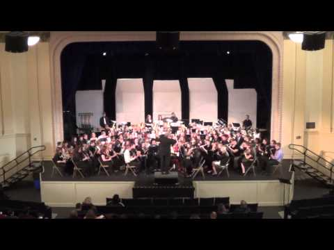 Yorkshire Ballad - Morehead State University 55th Annual Concert Band Clinic - Willis Rapp Band