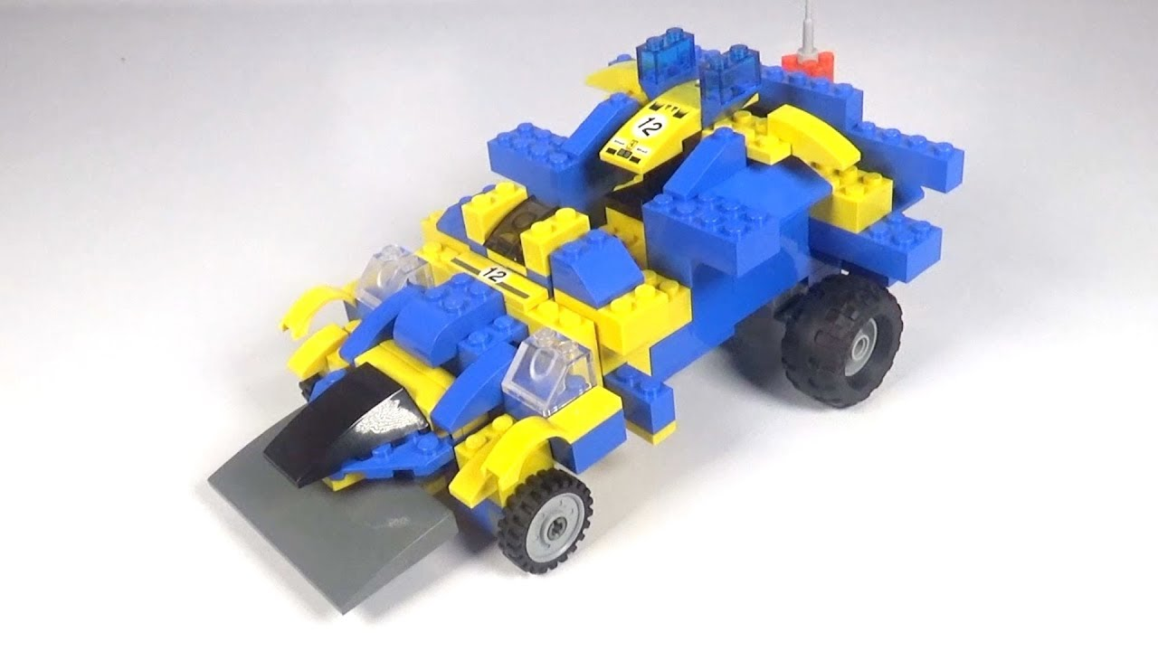 Lego Race Car 003 Building Instructions Lego Classic How To
