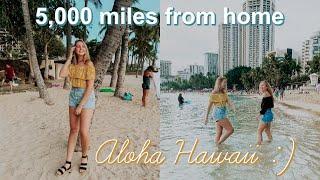 going to hawaii alone with my bff ;) *aloha*