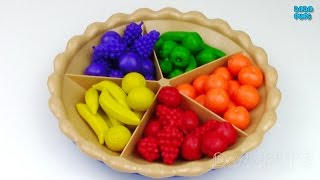 Learn To Count 1 to 10 with Super Sorting Pie|Counting Numbers 1-10|Numbers Fruits