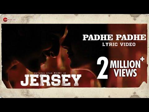 Padhe Padhe - Lyrical   Jersey   Nani, Shraddha Srinath   Anirudh Ravichander