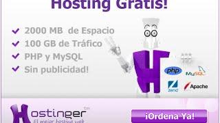 Subir página web a un Hosting gratuito [HOSTINGER] Dominios GRATIS By Sandro Peralta