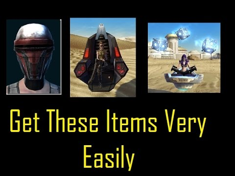 SWTOR: How to Get Revans Mask, Hoverchair, Command Throne Very ...