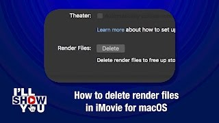 Free up disk space on your Mac: How to delete render files in iMovie for macOS