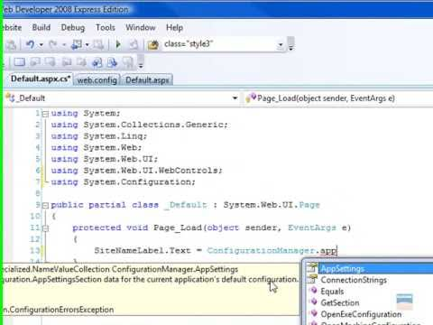 Writing to app.config issue in C#