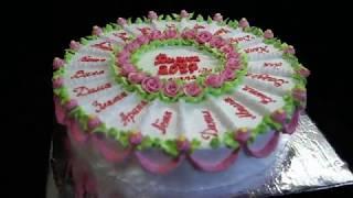видео заказать детский торт на день