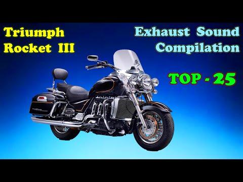 Triumph Rocket best exhaust sounds