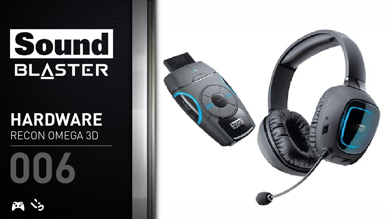 Creative Sound Blaster Recon3D Headset Driver