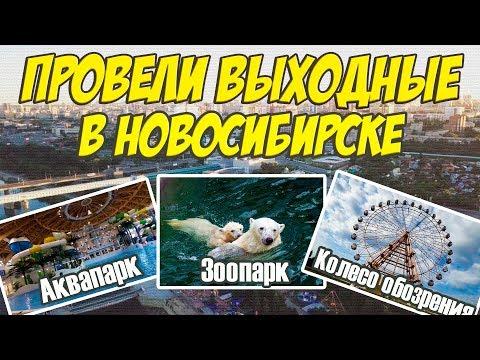 Крутой отдых в Новосибирске - Аквапарк-Аквамир, Зоопарк, Колесо обозрения 70 м