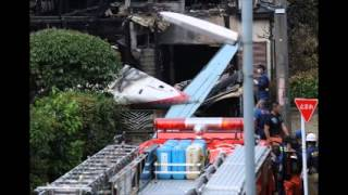 Japan: 3 dead after small plane crashes into suburb